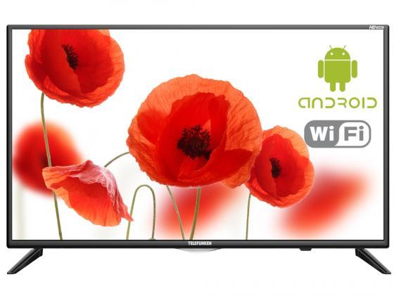 цена на Телевизор 32 Telefunken TF-LED32S97T2S черный 1366x768 50 Гц Smart TV Wi-Fi RJ-45 Для наушников