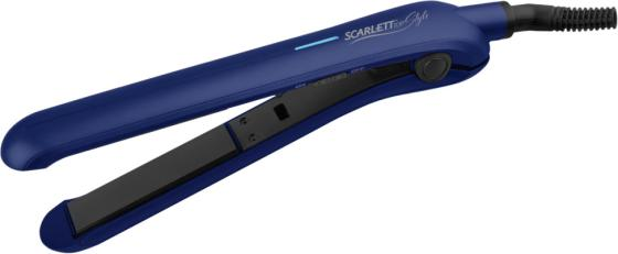 цена на Щипцы Scarlett SC-HS60600 30Вт синий чёрный