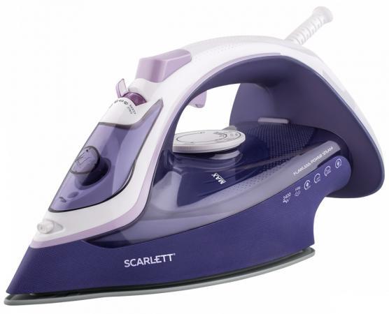 лучшая цена Утюг Scarlett SC-SI30K37 2400Вт фиолетовый