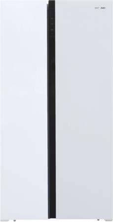 Холодильник Shivaki SBS-504DNFW белый (двухкамерный) холодильник shivaki shrf 230dw белый