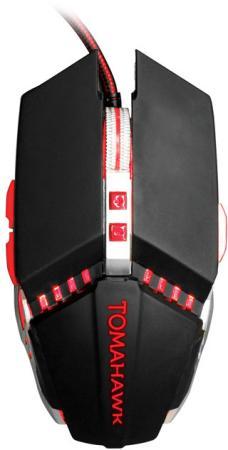 лучшая цена Мышь Oklick 999G черный оптическая (3200dpi) USB игровая (8but)