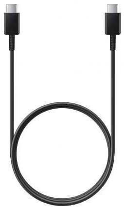 Фото - Кабель Type-C 1м Samsung EP-DA705BBRGRU круглый черный кабель samsung ep da705bbrgru usb type c m usb type c m 1м черный