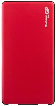 Фото - Внешний аккумулятор Power Bank 5000 мАч GP MP05 красный внешний аккумулятор xiaomi mi power bank 2 5000 ма·ч silver plm10zm