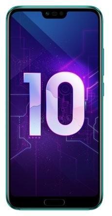 "Смартфон Huawei Honor 10 зеленый 5.84"" 64 Гб NFC LTE Wi-Fi GPS 3G Bluetooth 51092UCA смартфон huawei honor 8 4 64 гб 5 2 дюймов с 4g lte android 6 0"