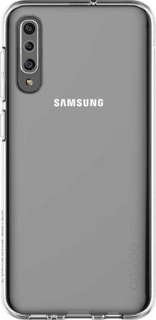 Чехол (клип-кейс) Samsung для Samsung Galaxy A50 Araree A Cover прозрачный (GP-FPA505KDATR)  - купить со скидкой