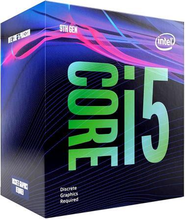Процессор Intel Core i5-9500F 1151v2 3GHz 9Mb Socet 1151v2 BOX процессор intel i5 4590 cpu 3 3ghz