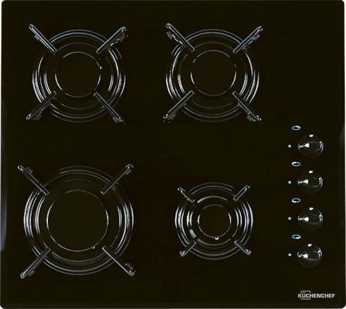 Газовая варочная поверхность Kuchenchef KHK600S черный kuchenchef khc600s черный