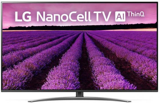 цена на Телевизор 65 LG 65SM8200PLA черный 3840x2160 100 Гц Wi-Fi Smart TV Компонентный RJ-45