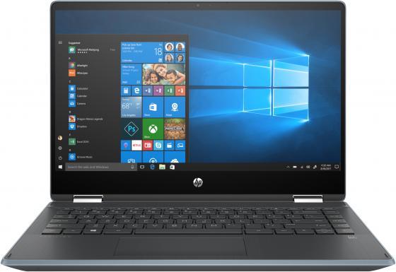 """HP Pavilion 14x360 14-dh0003ur (Msft modern) 14""""(1920x1080 IPS)/Touch/Intel Core i5 8265U(1.6Ghz)/8192Mb/256PCISSDGb/noDVD/Int:Intel UHD Graphics/war 1y/Cloud Blue/W10"""