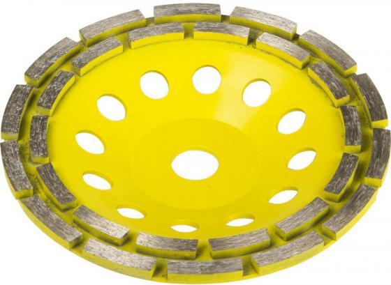 Фото - Чашка шлифовальная STAYER PROFESSIONAL 33381-180 алмазная сегментная двухрядная выс.22.2мм 180мм чашка алмазная шлифовальная vira 125х22 2мм 2 ряда