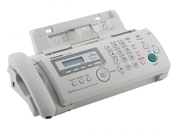 Факс Panasonic KX-FP218RU термоперенос белый факс panasonic kx fl423ruw