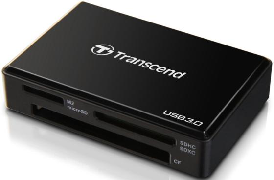 Фото - Считыватель карты памяти Transcend USB 3.0 Transcend All-in-1 Multi Card Reader, Black ван карты card король kw 3008n 300mbps high power wireless usb adapter