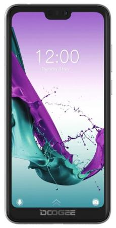 "Смартфон Doogee Y7 пурпурный 5.84"" 32 Гб LTE Wi-Fi GPS 3G Bluetooth смартфон lenovo sisley s90 серый графитовый 5 32 гб lte wi fi gps 3g p0s3000nru"