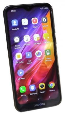 Смартфон Doogee X90L черный 6.1 16 Гб LTE Wi-Fi GPS 3G Bluetooth смартфон