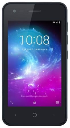 Смартфон ZTE Blade L130 синий 4 8 Гб Wi-Fi GPS 3G Bluetooth смартфон zte blade a3 черный 5 16 гб lte wi fi gps 3g bluetooth