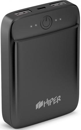 Фото - Внешний аккумулятор Power Bank 10000 мАч HIPER SL10000 черный аккумулятор