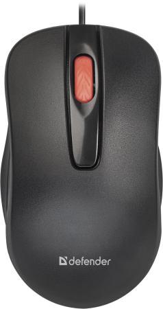 цена на Defender Point MM-756 [52756] {Проводная оптическая мышь, черный,3 кнопки,1000 dpi}
