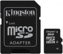 Карта памяти Micro SDHC 8GB Class 4 Kingston SDC4/8GB/SP2