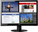 "Монитор 27"" AOC E2752VQ черный TN 1920x1080 300 cd/m^2 2 ms DVI HDMI DisplayPort VGA"