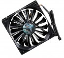 Вентилятор Aerocool Shark Black Edition 140mm 800rpm 14.5 dBA EN554514