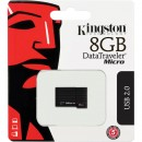 Флешка USB 8Gb Kingston DataTraveler Micro DTMCK/8GB черный5