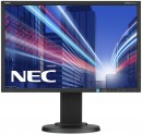 "Монитор 22"" NEC E223W черный TFT-TN 1680x1050 250 cd/m^2 5 ms DisplayPort DVI VGA"