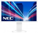 "Монитор 21.5"" NEC E224Wi белый AH-IPS 1920x1080 250 cd/m^2 6 ms DVI DisplayPort VGA Аудио"