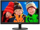 "Монитор 21.5"" Philips 223V5LSB00/01 черный TN 1920x1080 200 cd/m^2 5 ms VGA DVI"