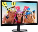 "Монитор 24"" Philips 246V5LSB/00/01 черный TN 1920x1080 250 cd/m^2 5 ms VGA DVI6"