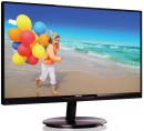 "Монитор 23"" Philips 234E5QSB 00/01 черный AH-IPS 1920x1080 250 cd/m^2 14 ms DVI VGA2"