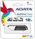 Флешка USB 16Gb A-Data S805 USB2.0 AS805-16G-RGY серый