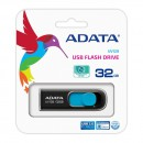 Флешка USB 32Gb A-Data UV128 USB3.0 AUV128-32G-RBE черный/синий6