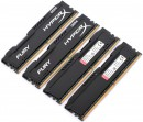 Оперативная память 32Gb (4x8Gb) PC4-19200 2400MHz DDR4 DIMM CL15 Kingston HX424C15FBK4/322