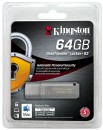 Флешка USB 64Gb Kingston DataTraveler LPG2 DTLPG3/64GB серебристый Locker+G36