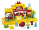 Конструктор Mega Bloks First Builders Ферма 95 элементов DCL342