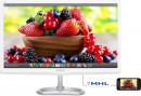 "Монитор 27"" Philips 276E6ADSS/00 белый IPS 1920x1080 300 cd/m^2 5 ms VGA DVI HDMI Аудио2"