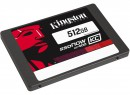 "Твердотельный накопитель SSD 2.5"" 512Gb Kingston SSDNow KC400 Read 550Mb/s Write 530Mb/s SATAIII SKC400S3B7A/512G3"