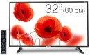 "Телевизор LED 32"" Telefunken TF-LED32S40T2 черный 1366x768 USB"