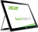 "Ноутбук Acer Aspire Switch Alpha 12 SA5-271-54XL 12"" 2160x1440 Intel Core i5-6200U 256 Gb 8Gb Intel HD Graphics 520 серебристый Windows 10 Home NT.LCDER.0154"