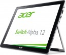 "Ноутбук Acer Aspire Switch Alpha 12 SA5-271-54XL 12"" 2160x1440 Intel Core i5-6200U 256 Gb 8Gb Intel HD Graphics 520 серебристый Windows 10 Home NT.LCDER.0155"