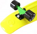 "Скейтборд Y-SCOO Big Fishskateboard 27"" RT винил 68,6х19 с сумкой GREEN/black 402-G3"