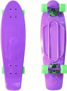 "Скейтборд Y-SCOO Big Fishskateboard 27"" RT винил 68,6х19 с сумкой PURPLE/green 402-Pr"