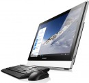 "Моноблок 23"" Lenovo S500z 1920 x 1080 Intel Core i5-6200U 8Gb 1Tb + 8 SSD Nvidia GeForce GT 920A 2048 Мб Windows 7 Professional серебристый черный 10K3004SRU"